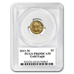 2011-W 1/10 oz Proof Gold American Eagle PR-69 PCGS John Mercanti