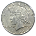 1924 Peace Dollar Extra Fine - GSA Soft Pack