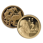 Royal Australian Mint 2012 Gold Proof Set - 8 Coin Set