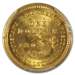 1903 $1.00 Gold Louisiana Purchase - McKinley MS-65 PCGS