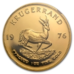 1976 1 oz Gold South African Krugerrand NGC PF-68 Cameo