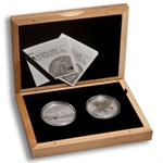 Palau Silver Proof $5 Treasures of the World - 2 Coin Set