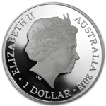 Royal Australian Mint 2013 Silver $1 20th Anniversary - Kangaroo