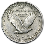 1919-P - Almost Uncirculated - Standing Liberty Quarter