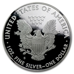 2012-S Proof Silver Eagle PF-69 NGC 75th Anniv (Retro Holder)