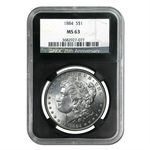 1878-1904 MS-63 NGC - 20 Different Coins - Black Holder 25th Ann