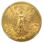 Mexico 1926 50 Peso Gold MS-63 NGC