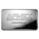 100 oz APMEX Struck Silver Bar .999 Fine