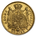 Kingdom of Italy (1808-1814) 20 Lire Gold Coins AGW .1867