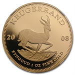 2008 1 oz Gold South Africa Krugerrand NGC PF-69 UCAM