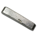 Academy 5.04 oz Old Pour/Finger Style Silver Bar - .999 Fine