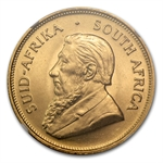 1972 1 oz Gold South African Krugerrand NGC MS-65
