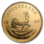 1969 1 oz Proof Gold South African Krugerrand PR-66UC NGC
