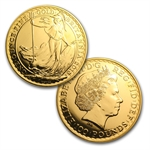 2013 Gold Britannia (10-Coin MintDirect® Tube)