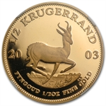2003 1/2 oz Gold South Africa Krugerrand NGC PF-68 UCAM