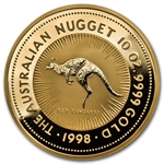 1998 10 oz Australian Gold Nugget