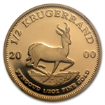 2000 South Africa 1/4 oz Gold Krugerrand NGC PF-69UC