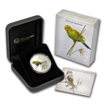 2013 1/2 oz Silver Budgerigar - Birds of Australia