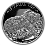 2012 1 oz Proof Silver Australian High Relief Collection