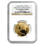 2006 Israel Abraham and the Angels 1/2 oz Gold PF-70 UCAM NGC