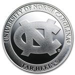 1 oz University of North Carolina Silver Round .999 Fine