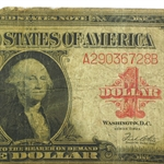 1923 $1 United States Note (Almost Good Details)