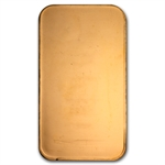 1 oz Johnson Matthey Gold Bar (Plain Back, No Assay .9999 Fine