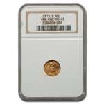 1915-S $1.00 Gold Panama-Pacific MS-63 NGC