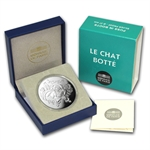 2012 10€ Silver Proof Heroes of French Literature - Puss in Boots