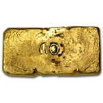 2 oz Gold Prospector's Gold & Gems Bar .999 Fine