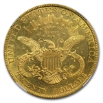 1892 $20 Gold Liberty Double Eagle - (AU Details) - NGC