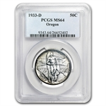 1933-D Oregon Trail Commemorative MS-64 PCGS