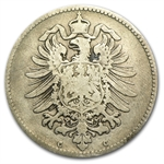 Germany 1873-C Mark Silver Fine