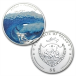 Palau Proof Silver $5 Scents of Paradise - 3 Coin Set