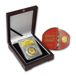 2012 1 oz Ultra High Relief Proof Gold Dragon PCGS PR-70 DCAM