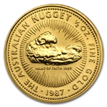 1987 1/2 oz Australian Gold Nugget