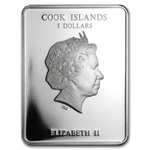 Cook Islands 2011 $5 Patron Saints - St. Aleksandr