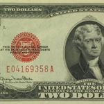 1928-G $2 (Red Seal) PCGS Gem New 66PPQ