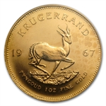 1967 1 oz Gold South African Krugerrand MS-65 PCGS