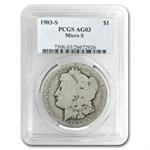 1903-S Morgan Dollar AG-3 PCGS VAM-2 Micro-S Top-100