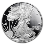 2013-W (Proof) Silver American Eagle PR-70 DCAM PCGS First Strike
