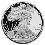 2013-W (Proof) Silver American Eagle (w/Box & CoA)
