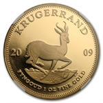 2009 1 oz Gold South African Krugerrand NGC PF-69 UCAM