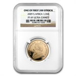 2009 1/2 oz Gold South African Krugerrand NGC PF-69 UCAM