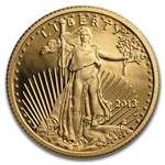 2013-W 1/4 oz Proof Gold American Eagle PR-70 PCGS - First Strike