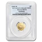 1995-W Olympic Stadium - $5 Gold Commemorative - MS-70 PCGS