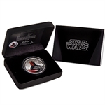 2012 Star Wars 1oz Silver $2 Niue - Darth Maul (W/Box & COA)