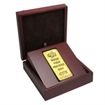 1 Kilo (32.15 oz) Gold Bar - Pamp Suisse - .9999 Fine )