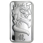 1 oz Pamp Suisse Year of the Dragon Silver Bar (Secondary Market)