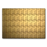 50x 1 gram Gold CombiBar (Valcambi, Degussa) (In Assay)